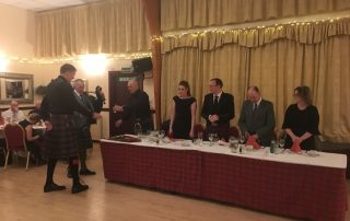 2019 Burns Supper, Cornhill Highland Games
