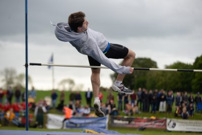 High jump, Cornhill Highland Games 2019