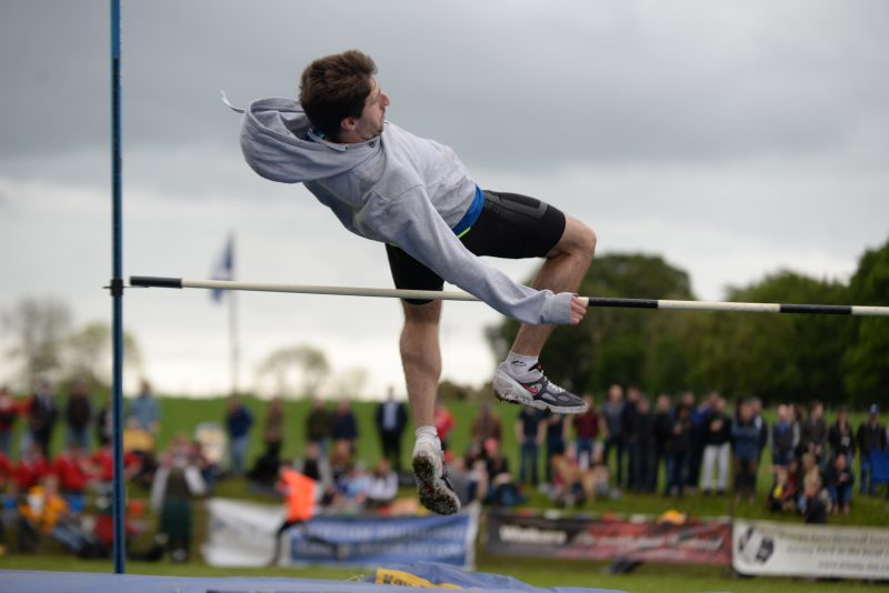 High jump, Cornhill Highland Games 2019